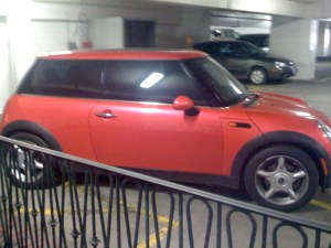 The ugly pink Mini